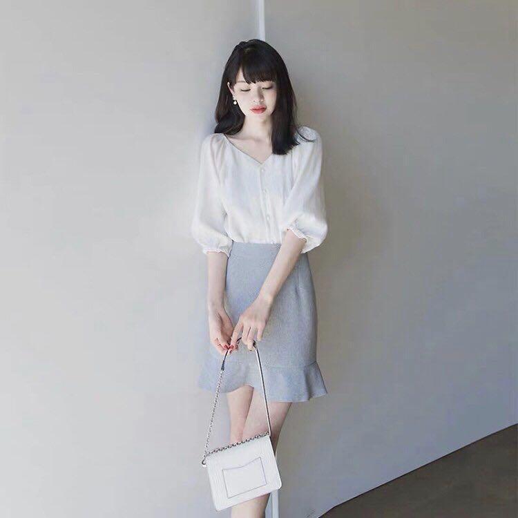 質感超好不透的白色襯衫