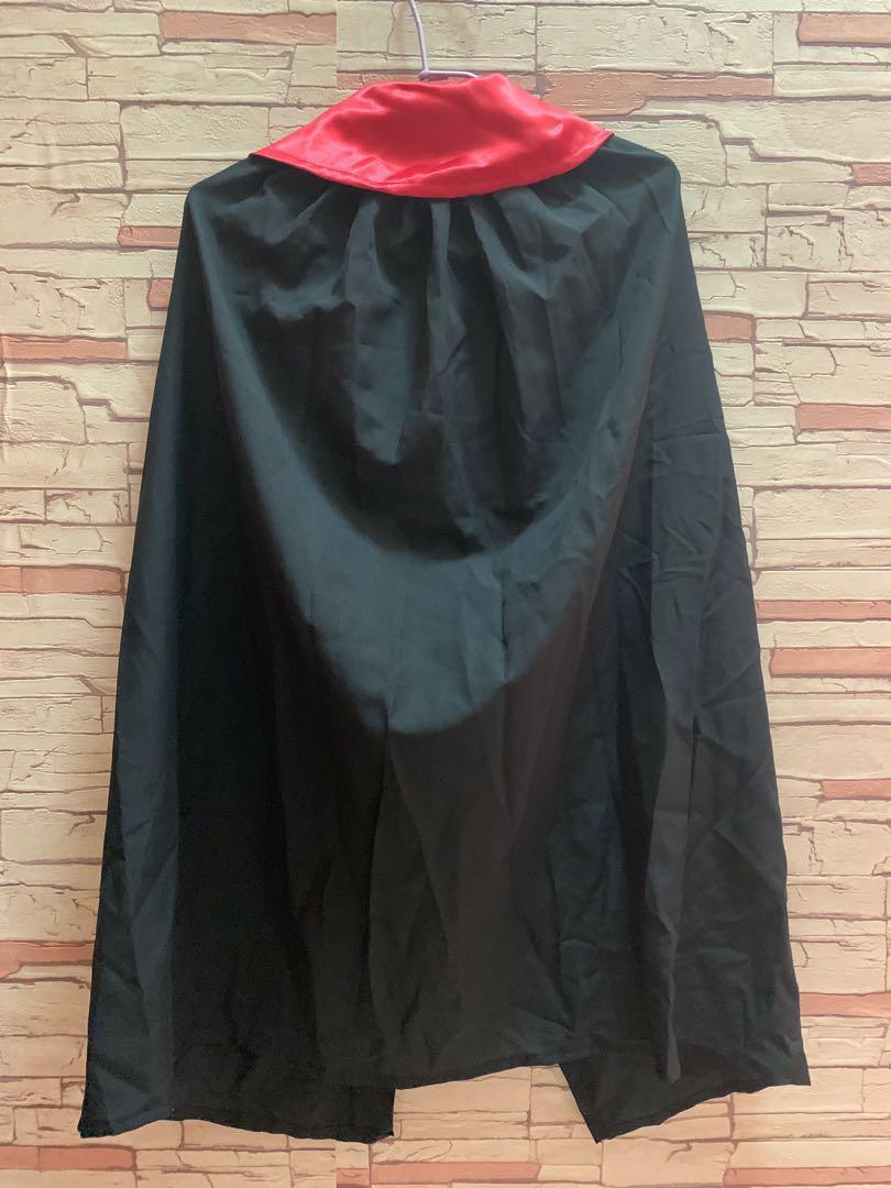 吸血鬼🧛♀️🧛♂️萬聖節🎃兒童死神斗篷披風表演服~(送一頂小丑帽🎩)