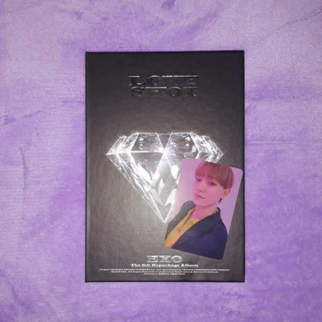 Album EXO Love Shot (Love ver.) Unsealed with Chen photocard/pc - Preloved