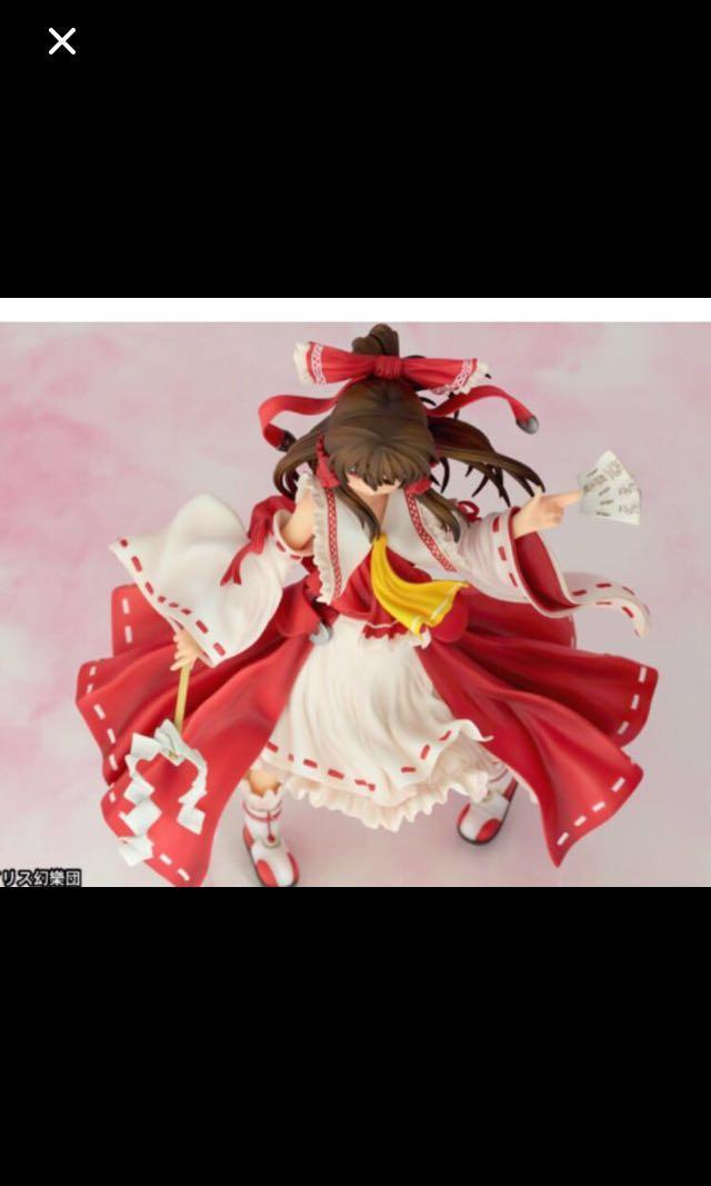 Anime scale figure harukei reimu touhou project
