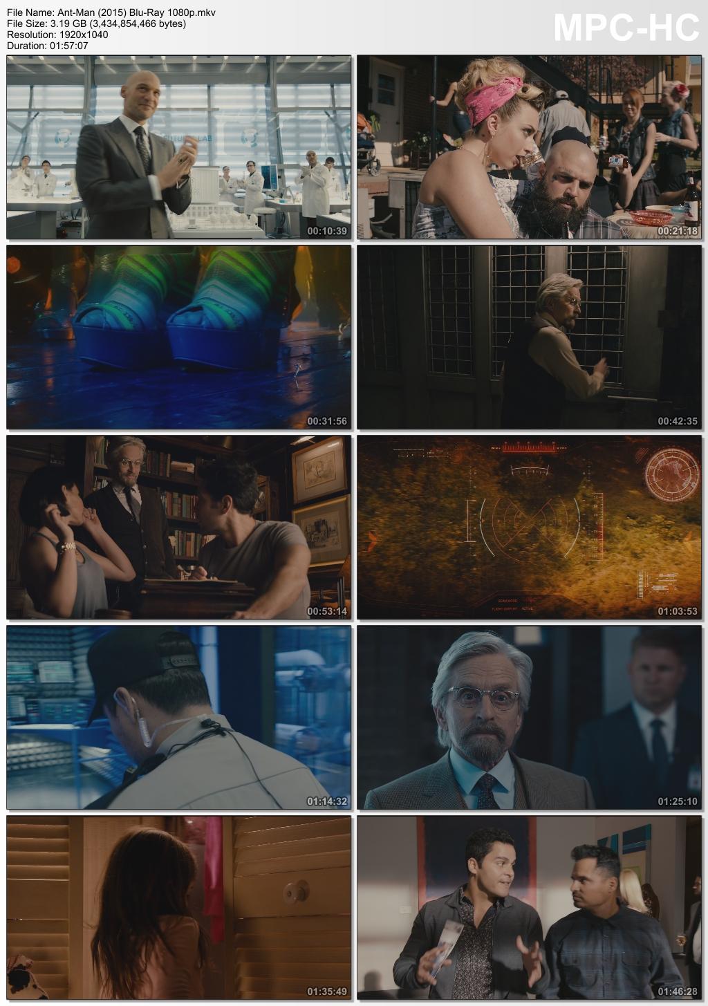 Marvel's Ant-Man 2 Movie Collection FHD 1080p Digital BluRay Movie