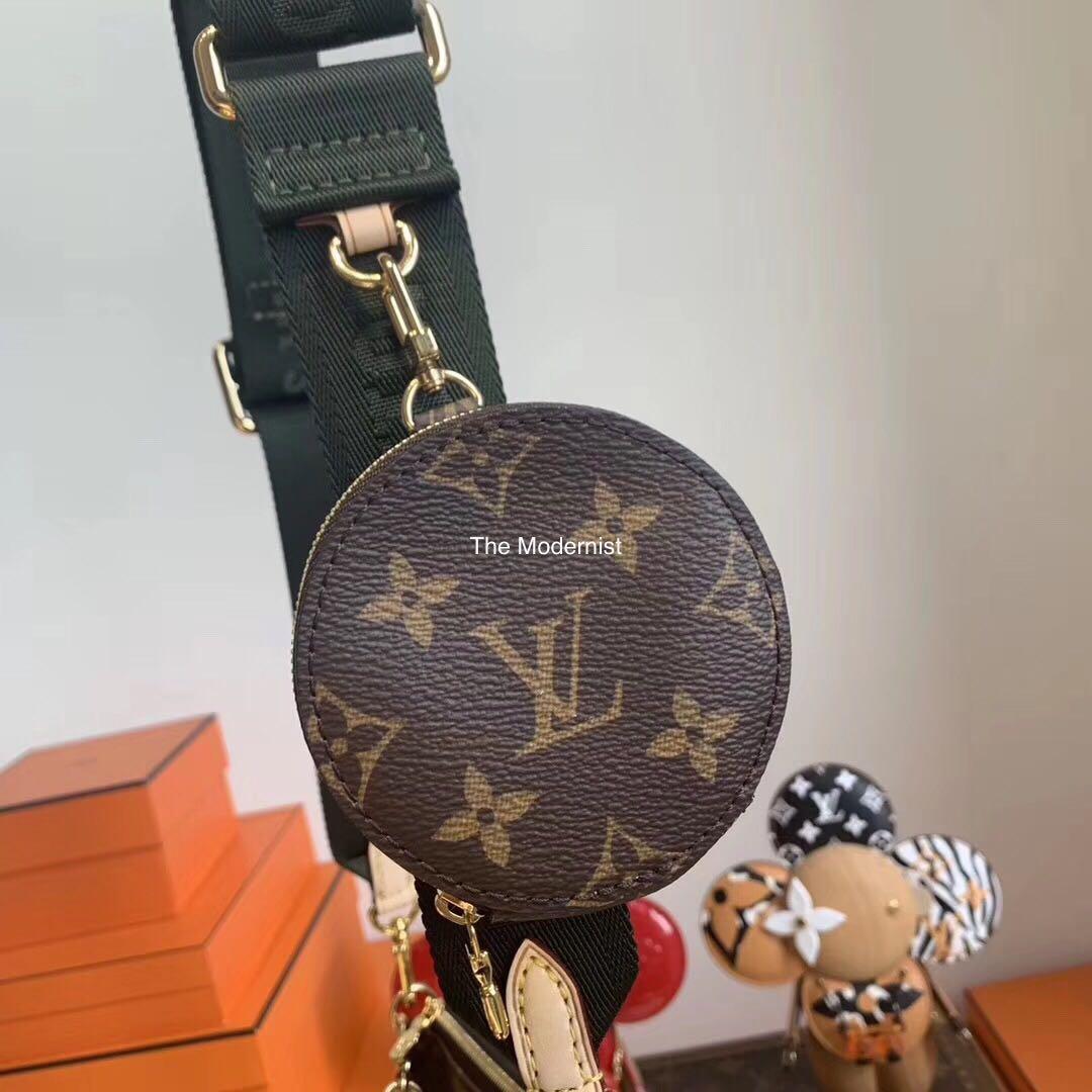 Authentic Brand New Louis Vuitton Multi Pochette Olive Green