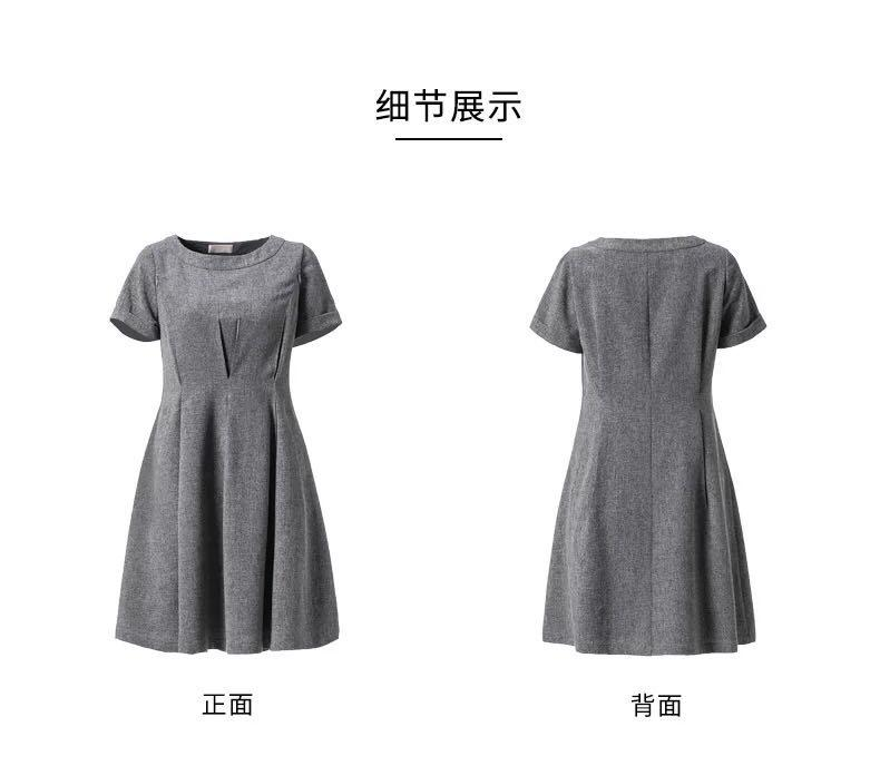 Beautiful Nursing Dress Breast Feeding Summer Loose Pregnant-Dress