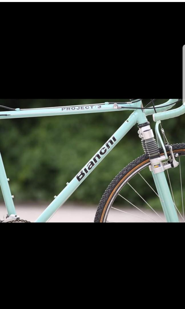 Bianchi Project.3(古董單車)
