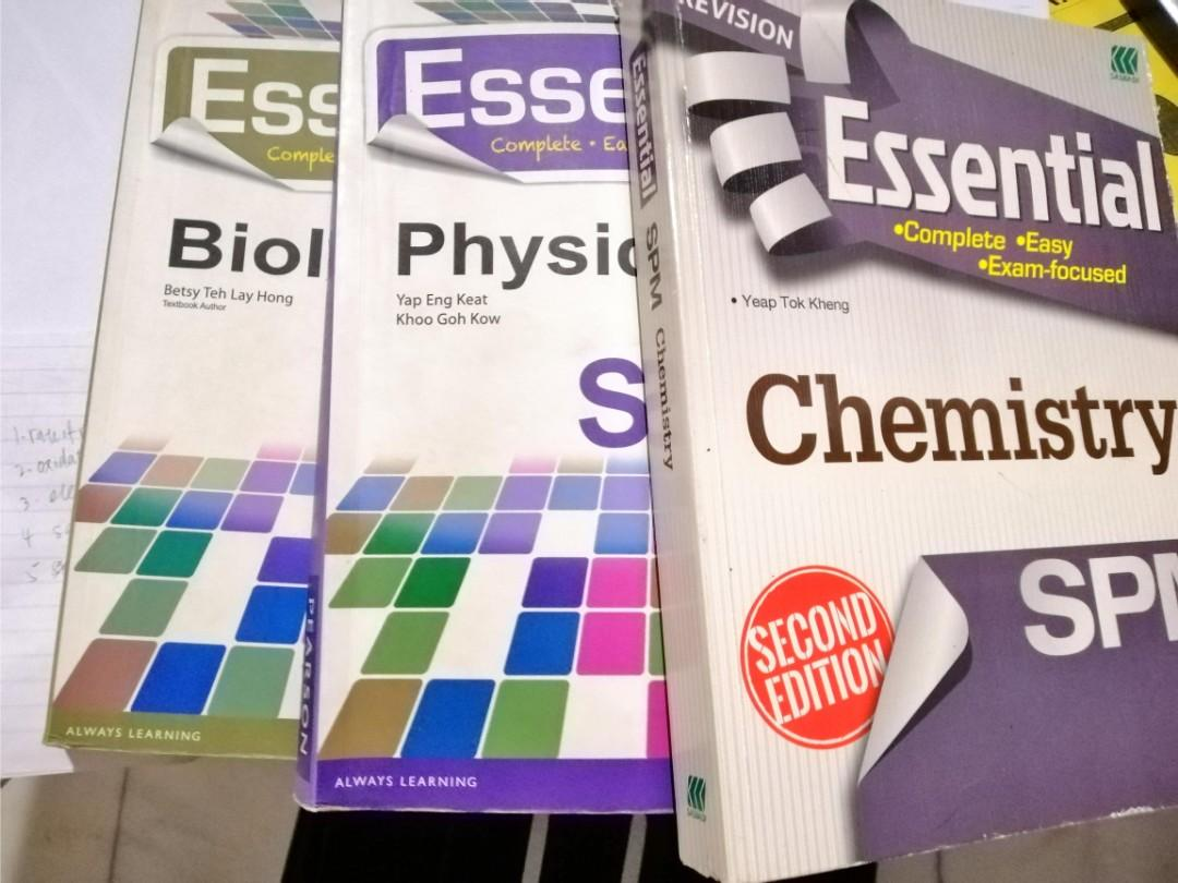 Biology, chemistry and physics reference book
