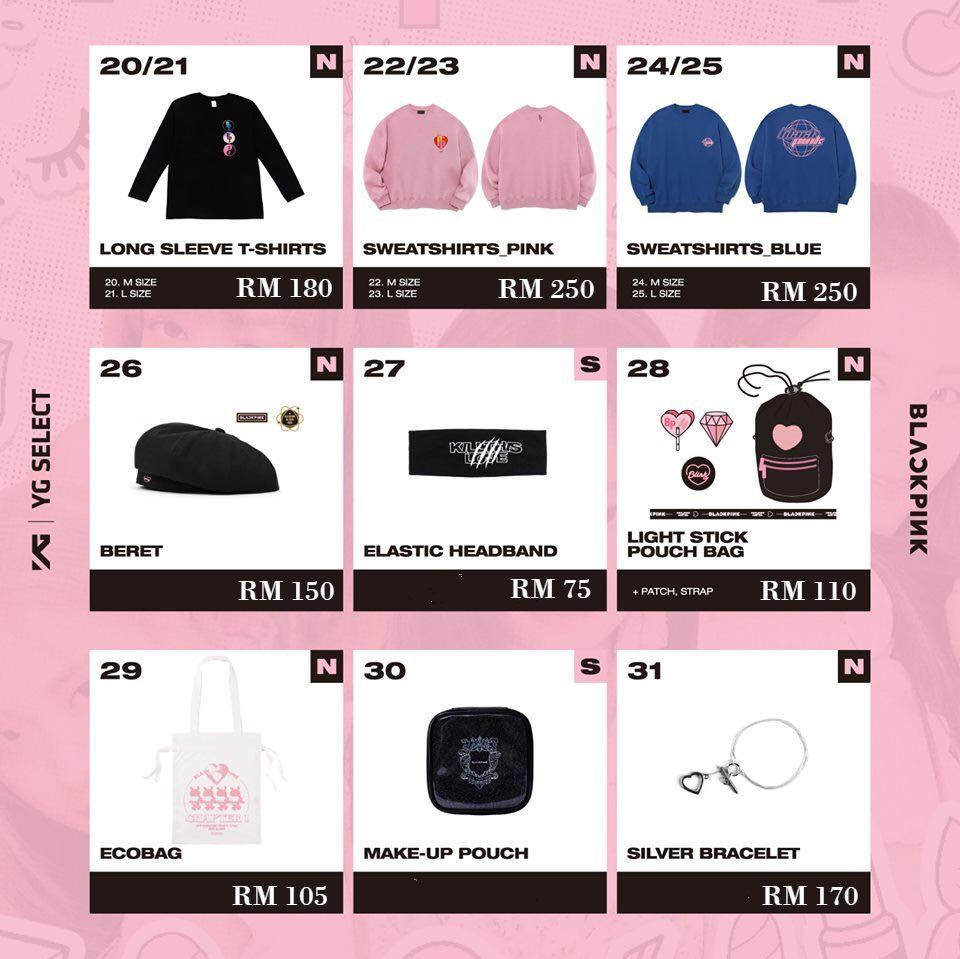 BLACKPINK 2019 PRIVATE STAGE [Chapter 1] OFFICIAL MD