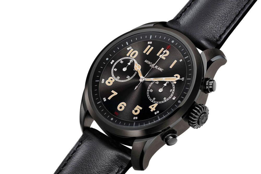 BNIB Montblanc Summit 2 Smart Watch Calfskin Leather Strap w/ 1Y Warranty