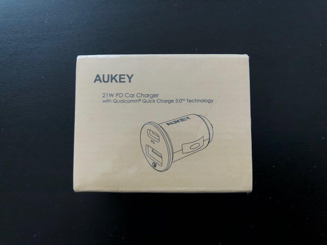 Brand new AUKEY USB C PD Car Charger quick charger