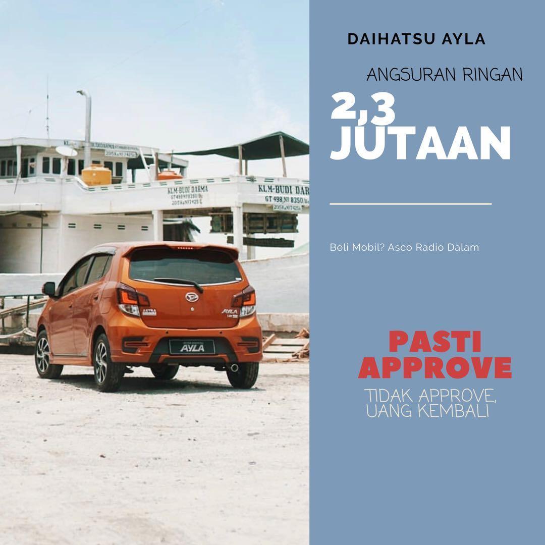 DP MURAH Daihatsu Ayla mulai 7 jutaan. Daihatsu Pamulang