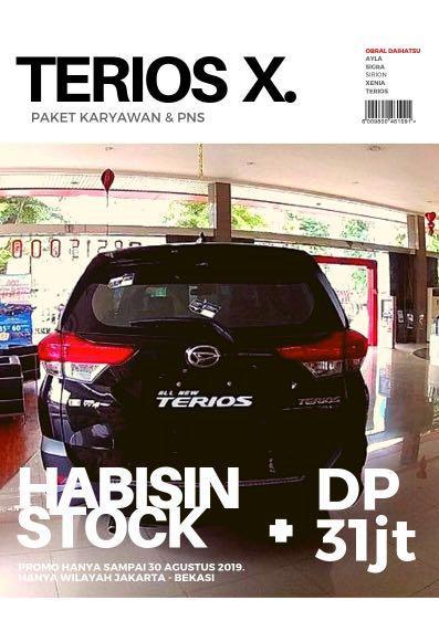 DP MURAH Daihatsu Terios mulai 31 jutaan. Daihatsu Pamulang