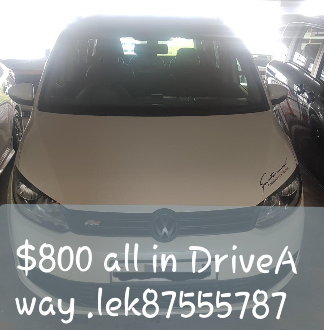 FOR Sales Volkswagen touran