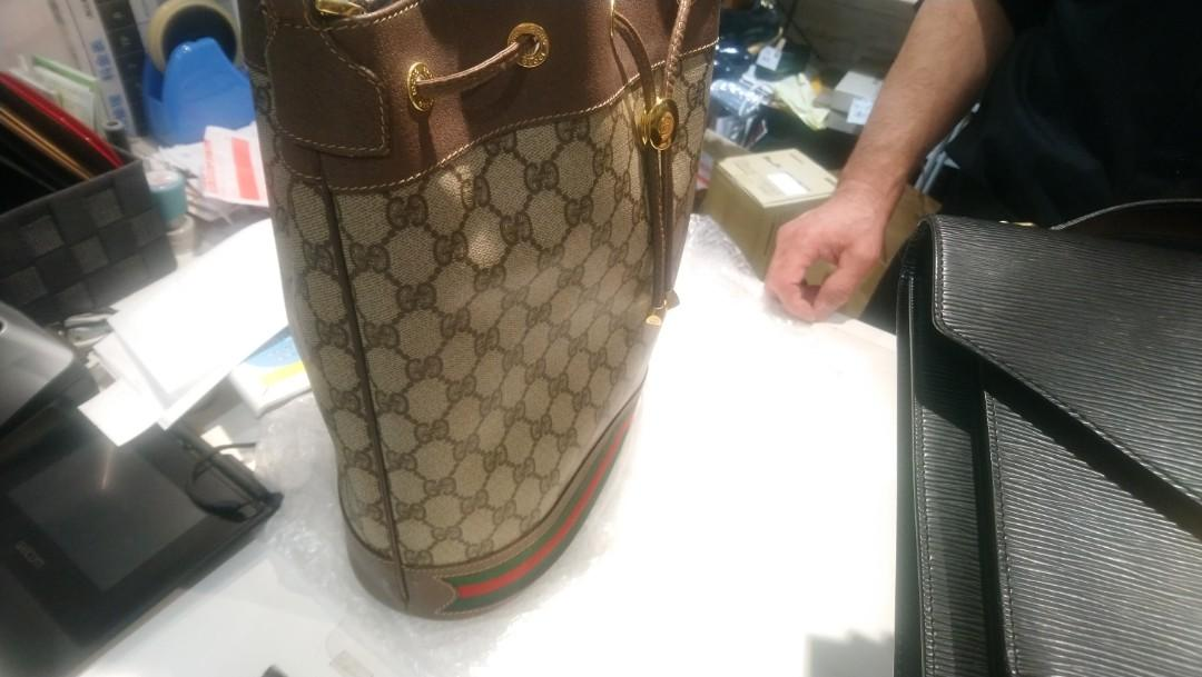 Gucci vintage 水桶包,非新款mini(預定10月中到台灣)