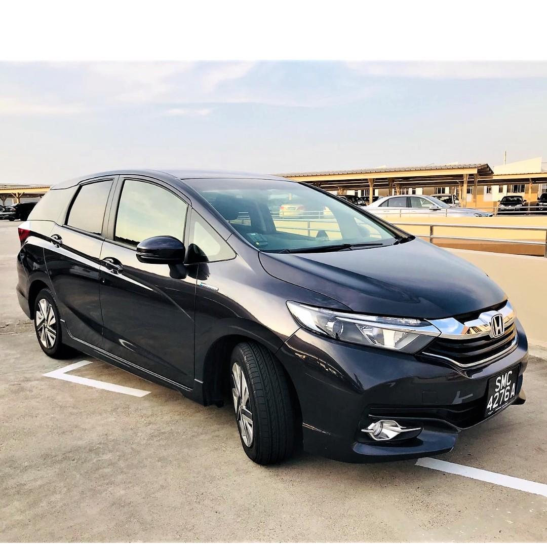 Honda Shuttle Hybrid [Jan 2019] - MD Blue/Silver/Black