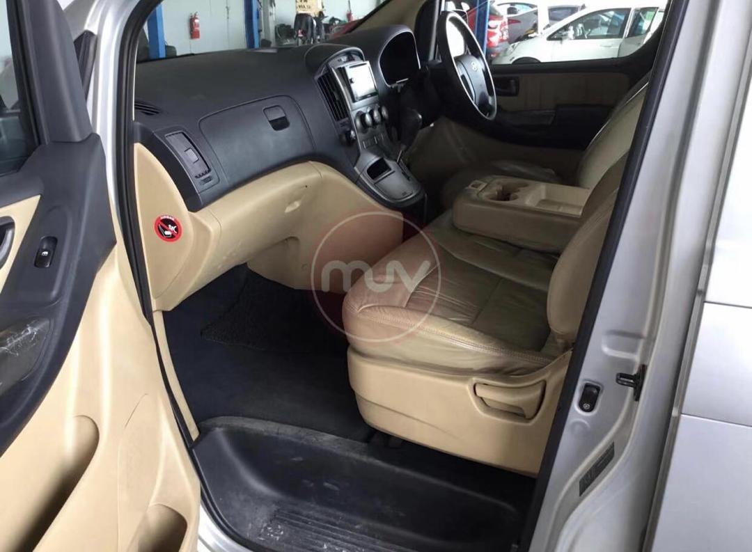 🚘HYUNDAI STAREX 2.5AT TURBO ROYAL 2008TH Cash💰OfferPrice💲Rm36,800 Only‼LowestPrice InJB‼Interested Call📲Keong 0177032069