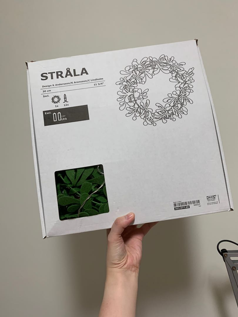 IKEA Christmas Wreath