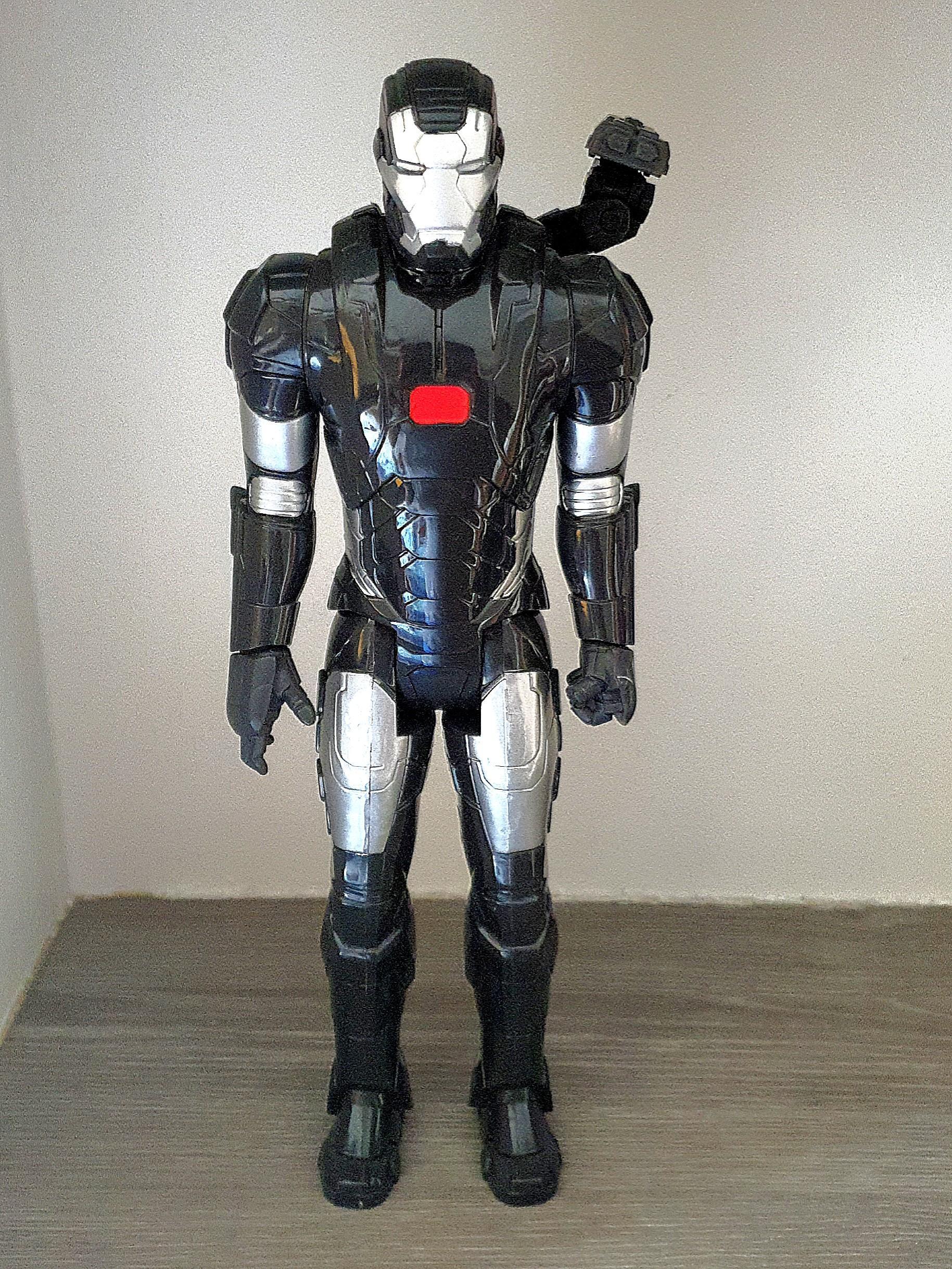 In-Stock 1//12 Nota Studio Iron Man Mark Tony Stark Head Defective For Small Size