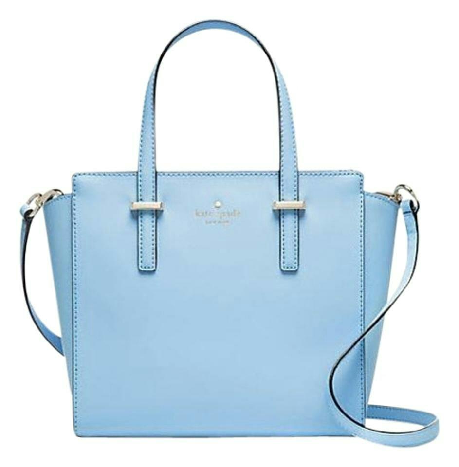 Kate spade cedar street Hayden handbag and wallet- skyblue