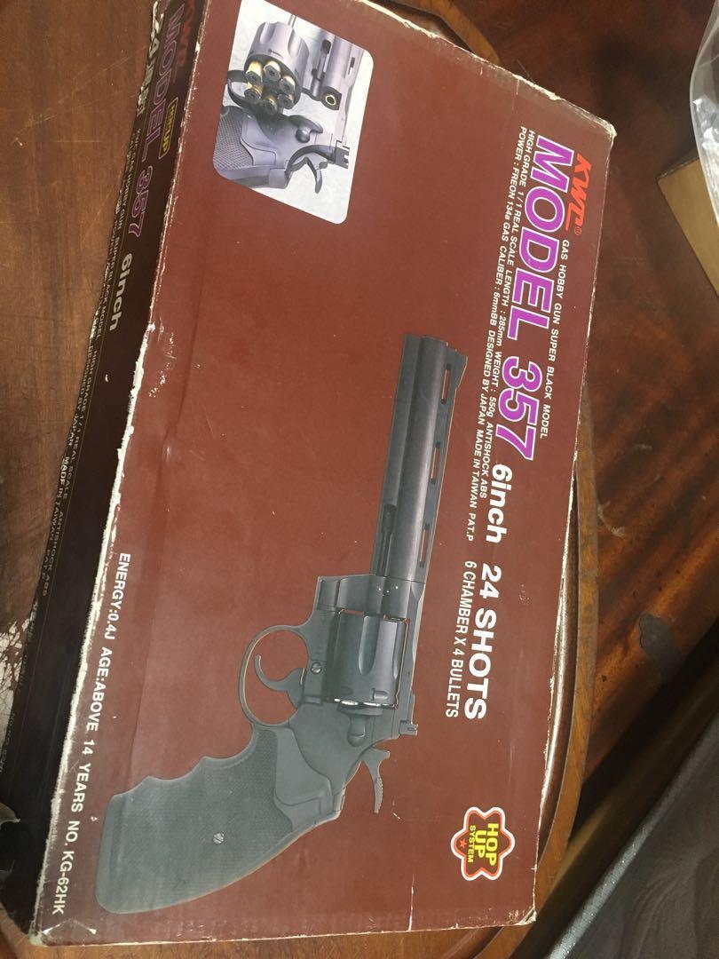 KWC357 左輪 金屬BB槍