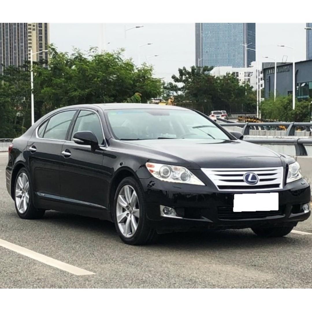 {阿麒典藏}LEXUS LS600HL 10年5.0L黑色 只有漂亮車實車 特價優惠只到月底 無泡水重大事故權利車只要有工作就可貸
