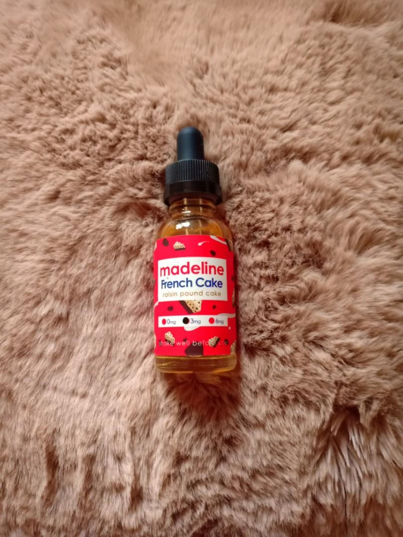 Liquid vape madeline french cake 3mg