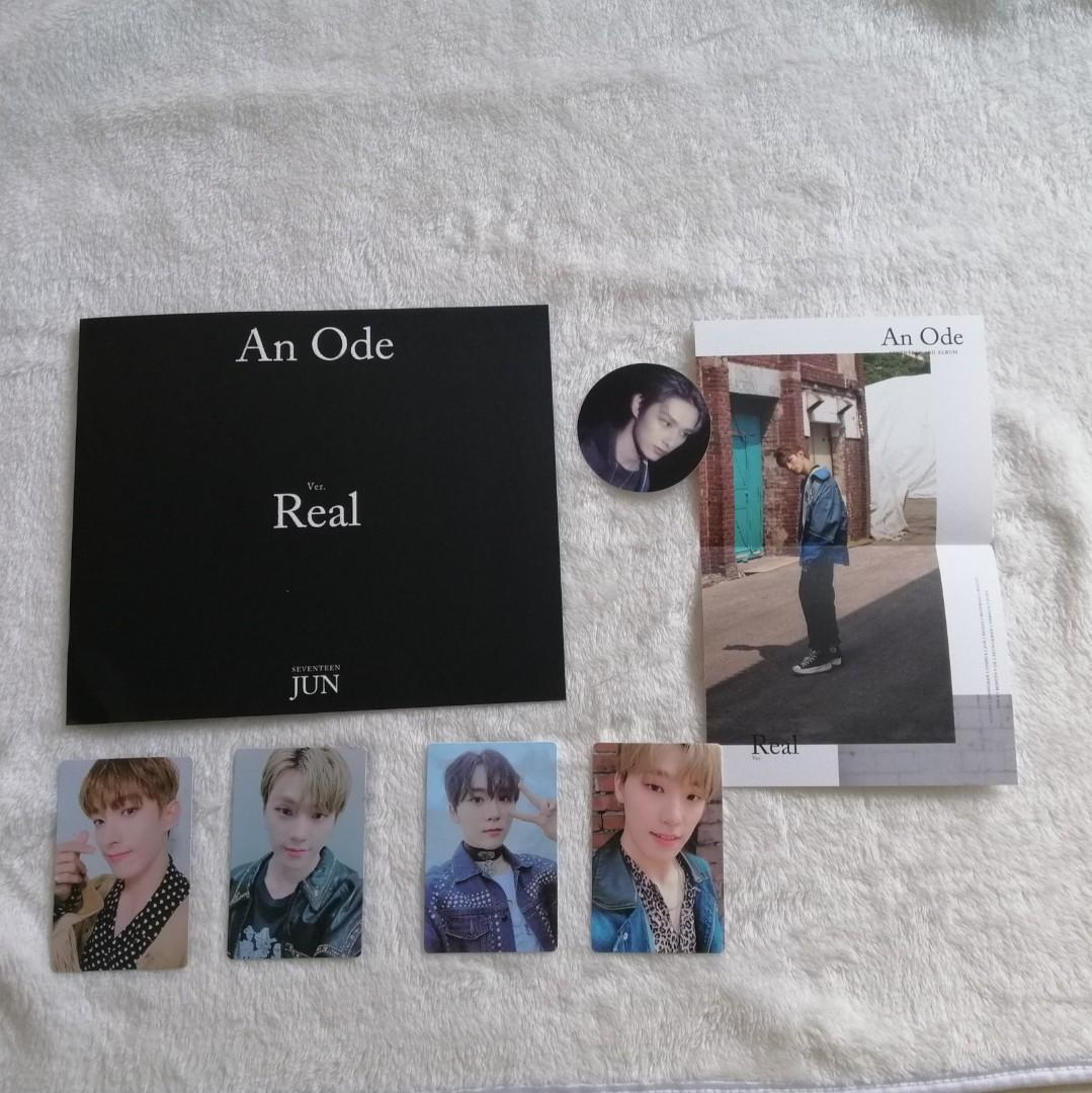 [LOOSE] SEVENTEEN 3RD ALBUM AN ODE REAL VERSION PHOTOCARD