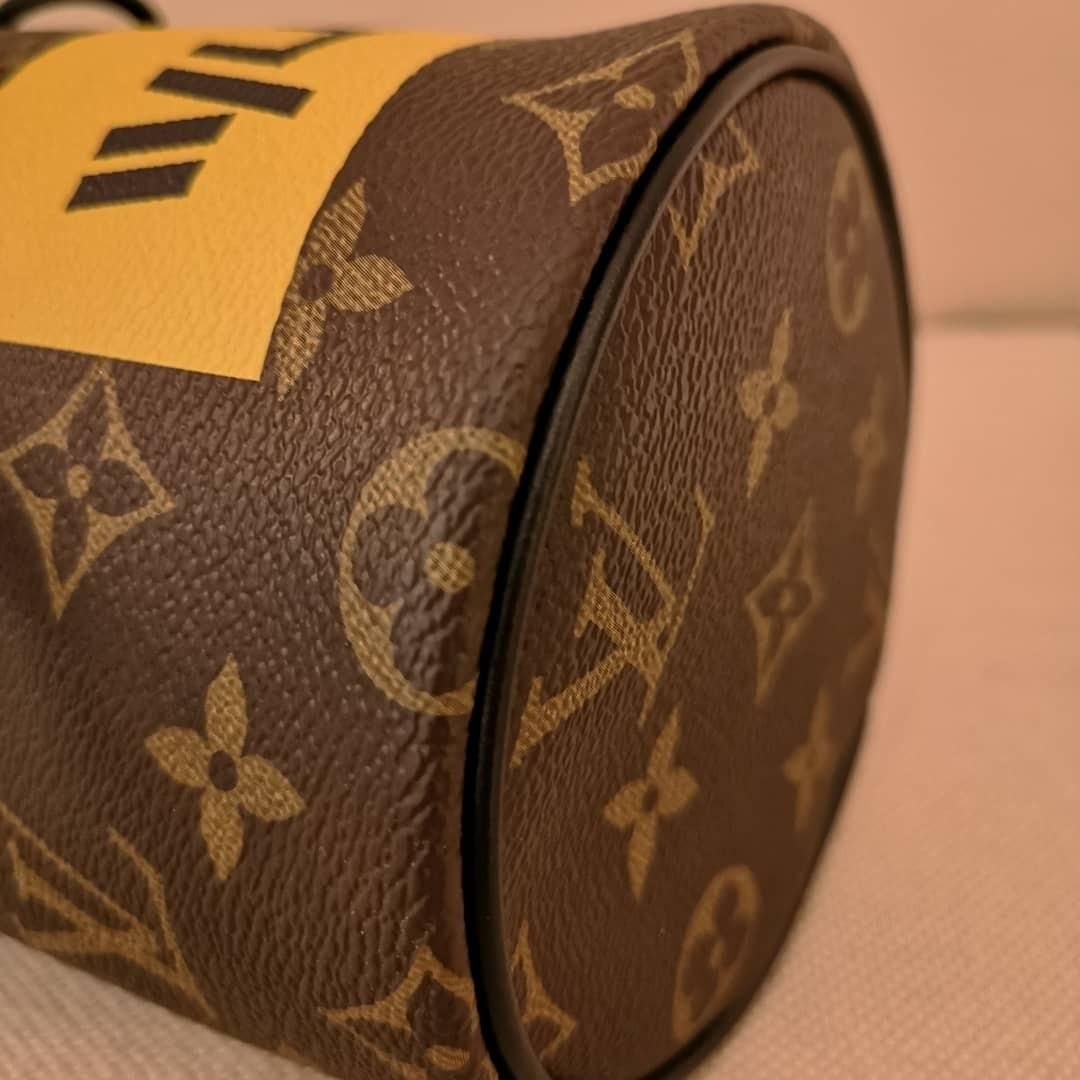 LV Chalk Nano Bag