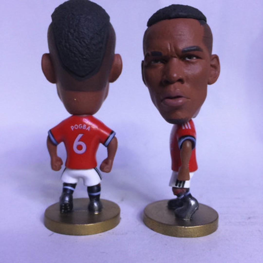 Manchester United Paul Pogba Football Figurine Toy Soccerwe Kodoto