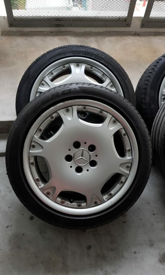 Mercedes 18 inch rims