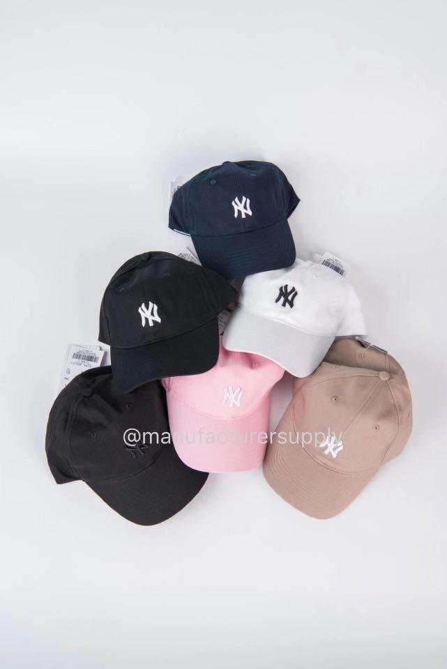 全新現貨 韓國MLB 棒球帽 鴨舌帽 NY洋基隊經典cap帽子