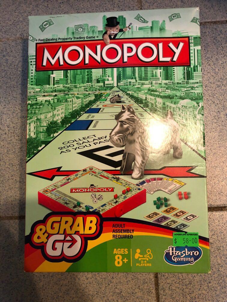 Monopoly大富翁 迷你版 旅行