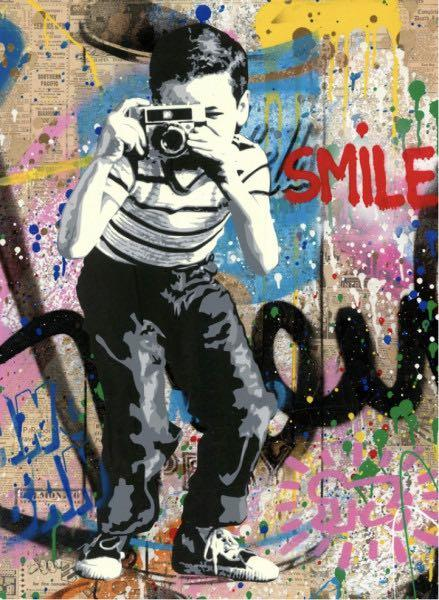 Mr Brainwash SMILE 2019 pre order, Futura Kaws Dot Dot Dot Mr Andre Barry Mcgee