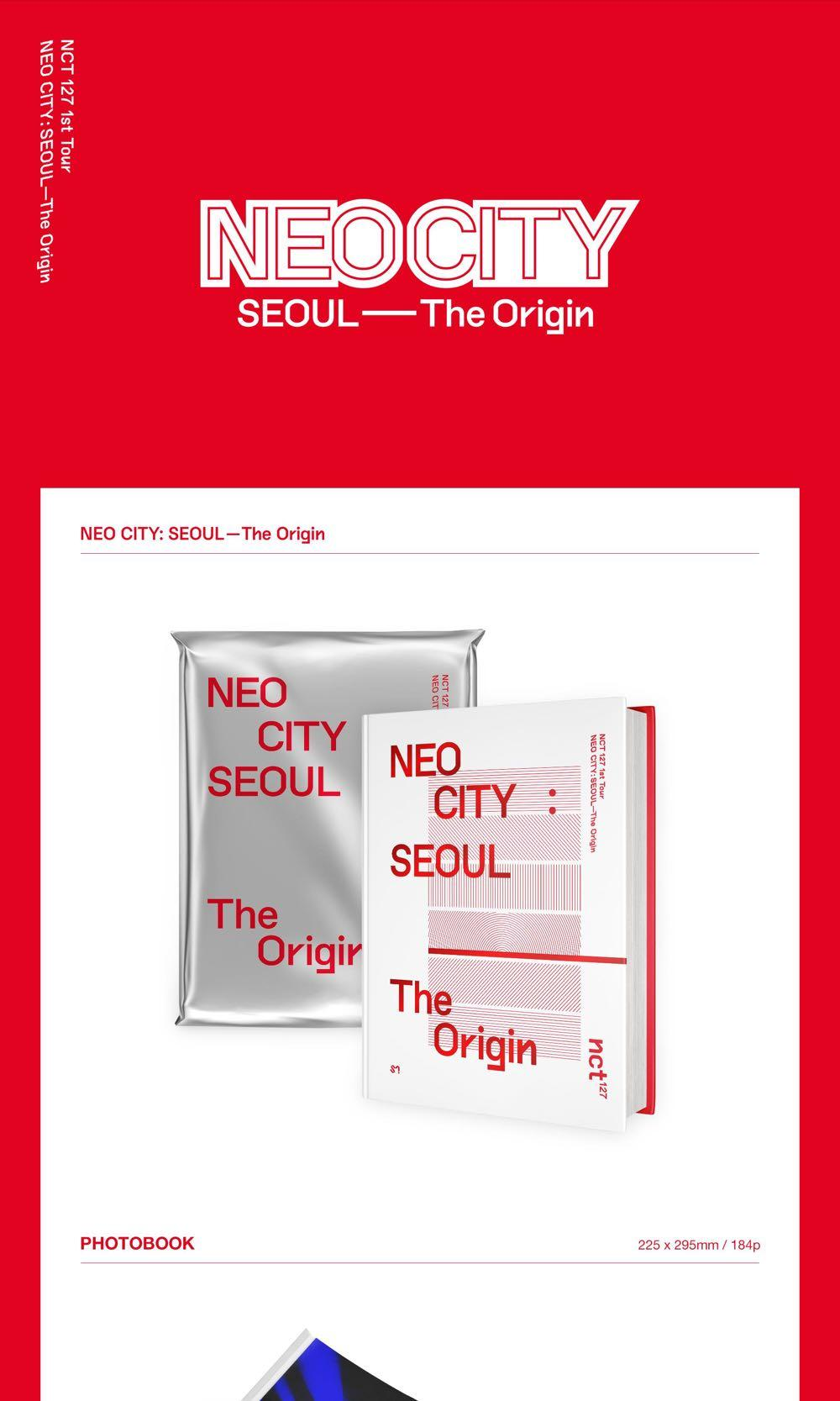NCT127 - Nct127 1st Tour Neo City: Seoul - The Origin