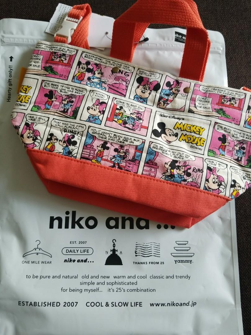 Niko and... Mickey and Minnie米奇米妮手提袋