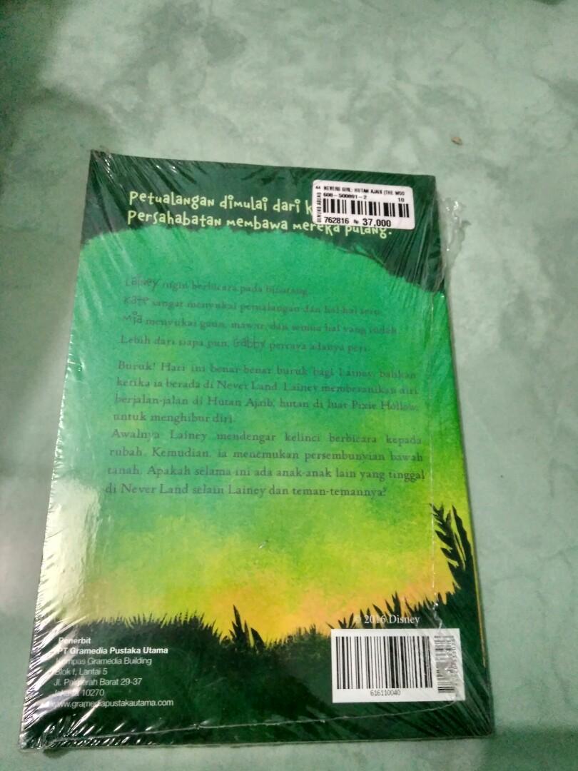 Novel Disney the Never Girls Hutan Ajaib by Kiki Thorpe