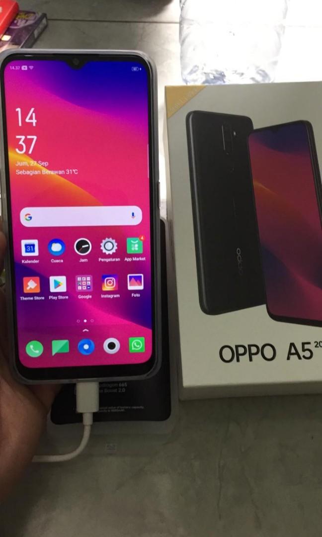 Oppo A5 2020 Ram 4 128 Gb Fulset Telepon Seluler Tablet Ponsel Android Oppo Di Carousell