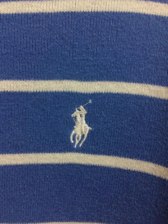 Polo Ralph Lauren Blue Strip Jumper M
