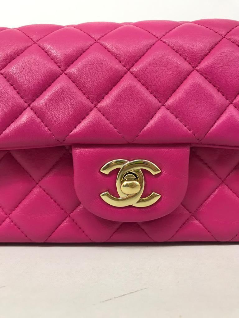 Preloved chanel mini rectangle #21 NO NEGO! Authentic. Full refund jika terbukti fake