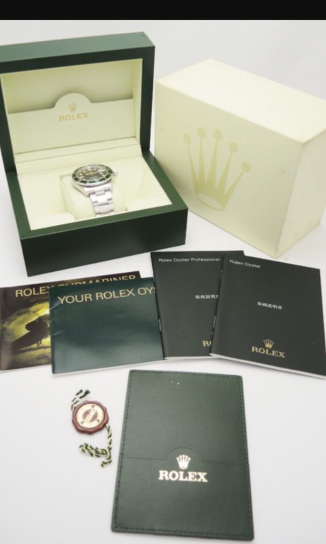 Rolex 16610LV 2006 z刻黑面綠水鬼