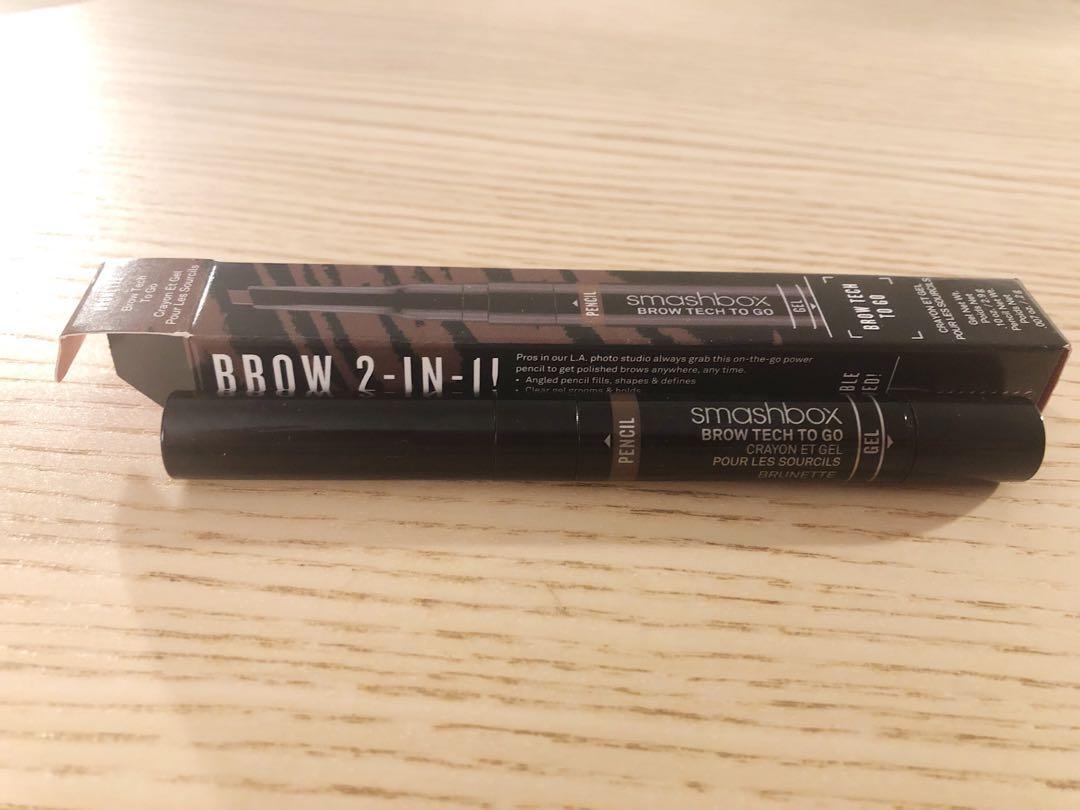 SMASHBOX Brow Tech To Go  Brunette - dark neutral brown