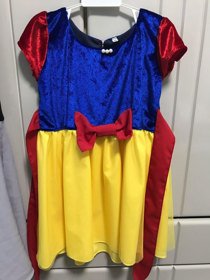 Snow White dress for 3 year old (90cm)
