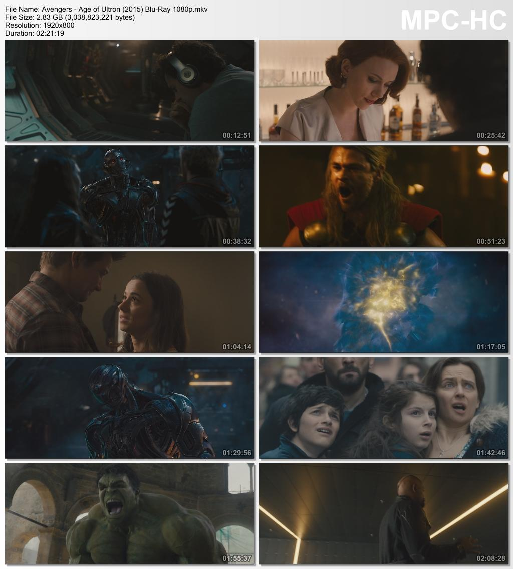Marvel's The Avengers Assembled (4 Avengers Movie Collection) FHD 1080p Digital BluRay Movie