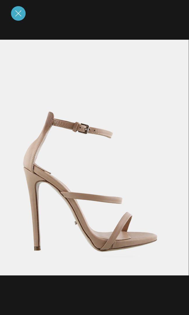 Tony Bianco Atkins nude heel WORN ONCE!!! RP 199.95$ , 12.5cm heel, size 7.5