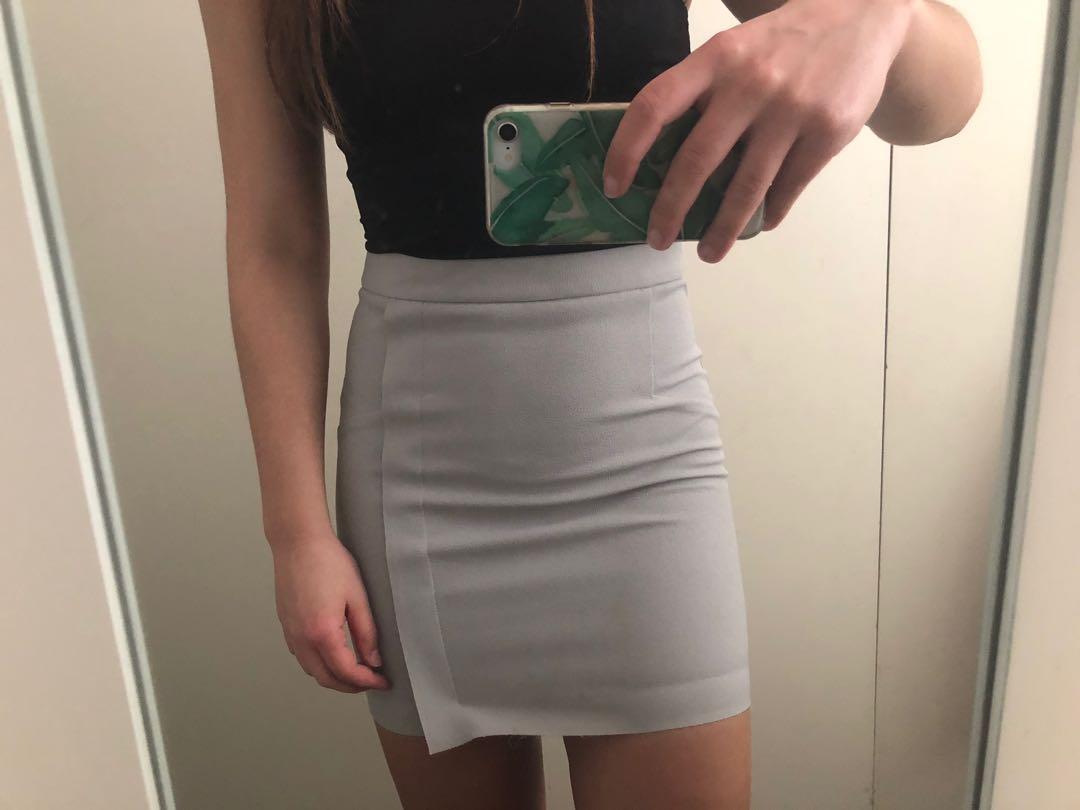 Top shop Lilac mini skirt