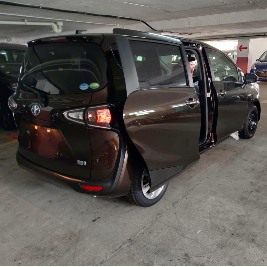 Toyota Sienta & Noah for Long Term Lease