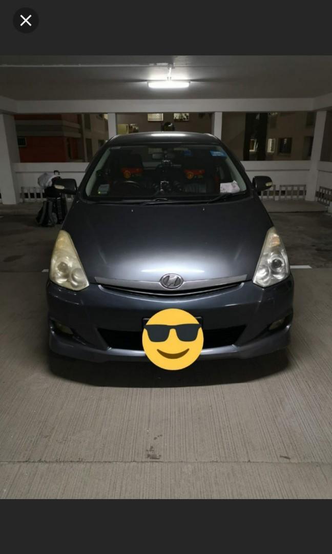 Toyota wish for rental