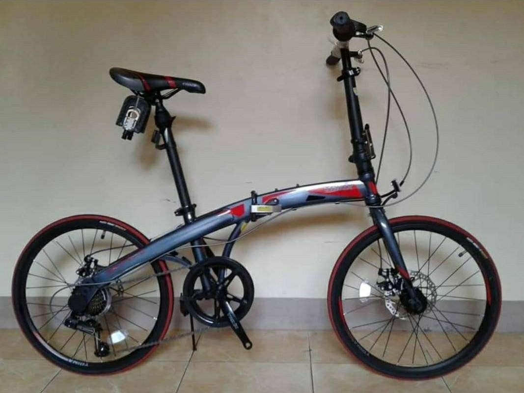 Trinx Dolphin 1 0 And 2 0 Folding Bike Sports Bicycles On Carousell