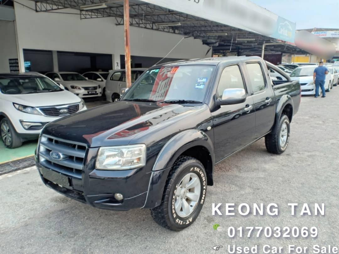 TURBO DIESEL ENGINE🎉FORD RANGER 2.5MT TDCi XLT 4X4 PICKUP 2008TH💰 OfferPrice💲RM21,800 Only 🎉Monthly Rm410👆👇Only‼LowestPrice InJB‼Interested Call📲0177032069 KeongForMore🤗