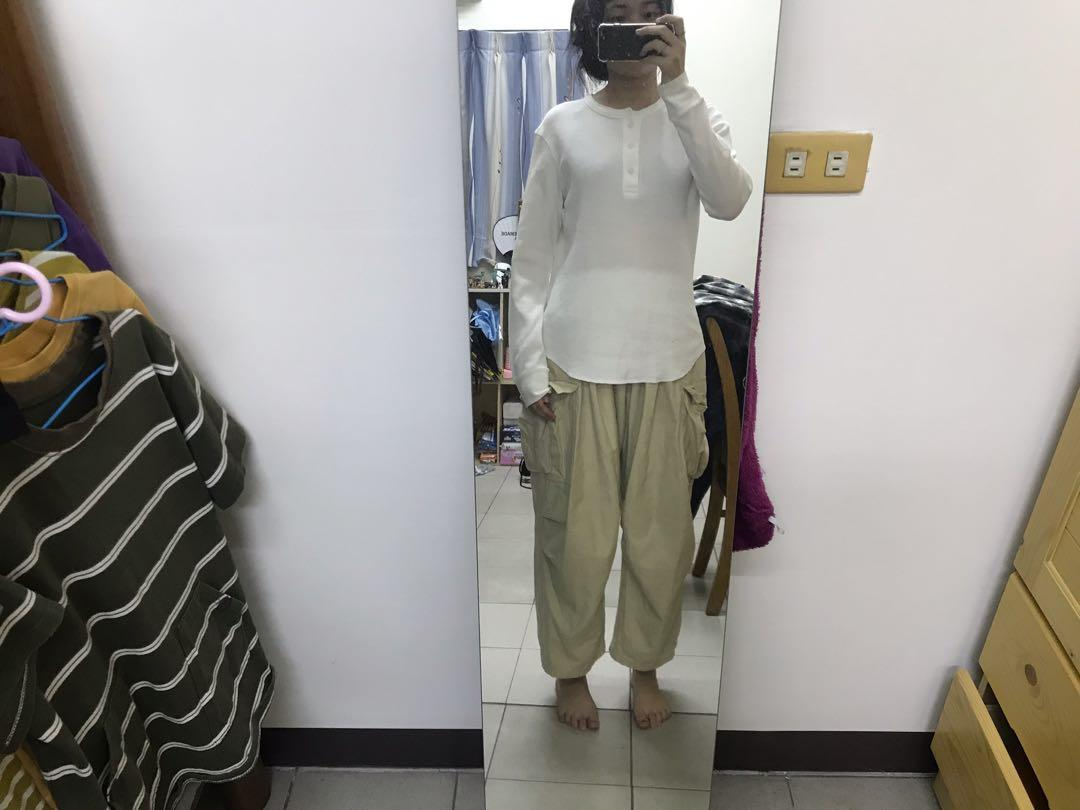 Uniqlo 白色衛衣