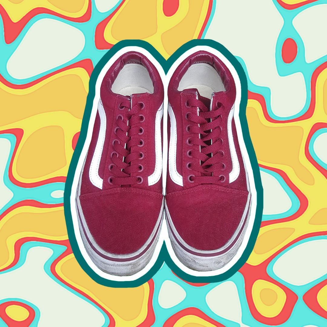 Vans - Old Skool Rumba Red (mens 8.5 | womens 10)