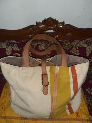 Fossil Bag canvas Rare